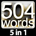 504 لغت ضروری | آموزش زبان انگلیسی | 1100 لغت icon
