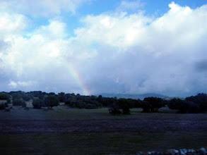 Photo: Arco iris sobre la dehesa al sur de la Pedriza