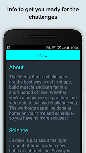 30 Day Fit Challenges Workout- screenshot thumbnail