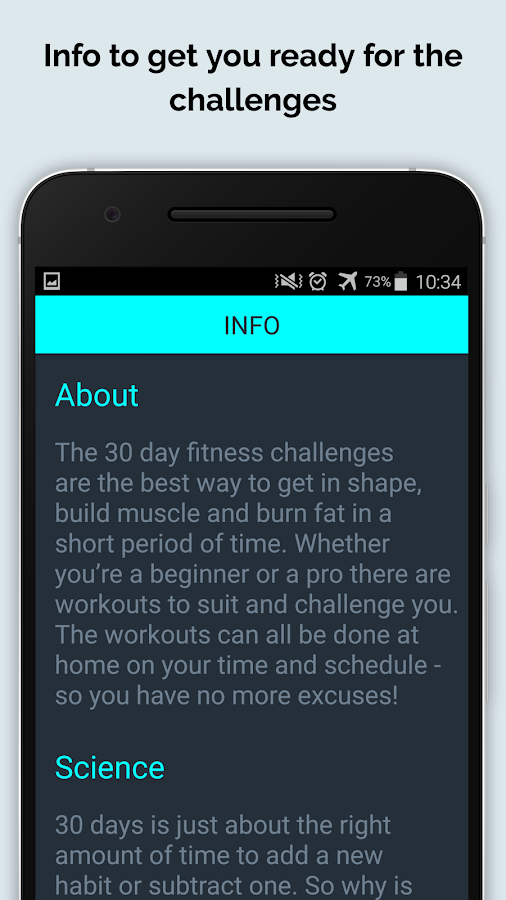 30 Day Fit Challenges Workout- screenshot
