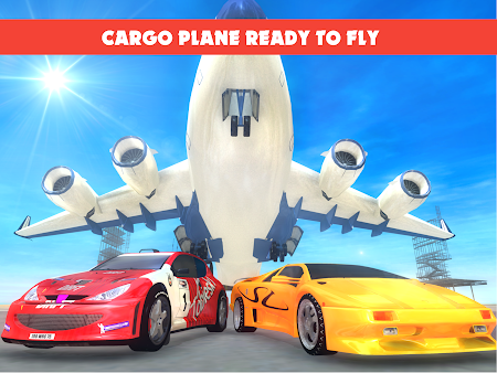 Race Car Transporter Airplane 1.9 screenshot 975052