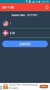 USD to DKK Converter - náhled