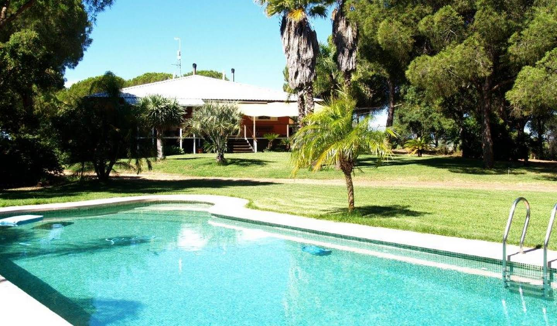 Propriété avec piscine en bord de mer Huelva