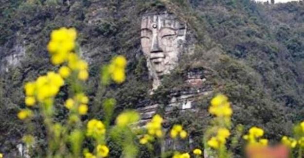 Bất ngờ lộ diện tượng Phật hằng ngàn năm bằng đá, lớn hơn cả bức tượng Lạc Sơn Đại Phật