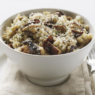 Risotto With Porcini Mushrooms.