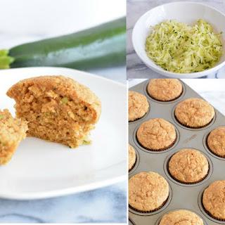 Oat Bran Zucchini Muffins Recipe