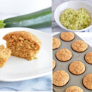 Oat Bran Zucchini Muffins.