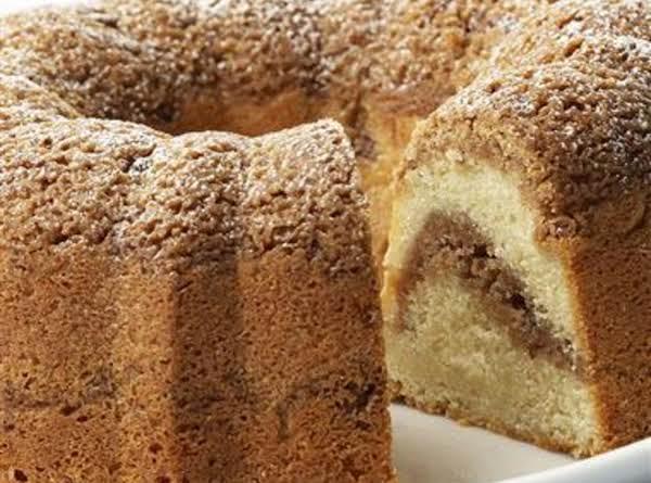 Cinnamon Streusel Cake Recipe