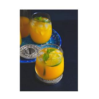 Iced Mango Mint Turmeric Green Tea Recipe