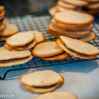 Milano Cookies With Ganache.