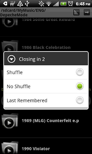 Folder Player 4.8.1 screenshots 2