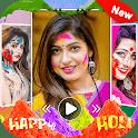 Holi Video Maker with Music - Happy Holi icon