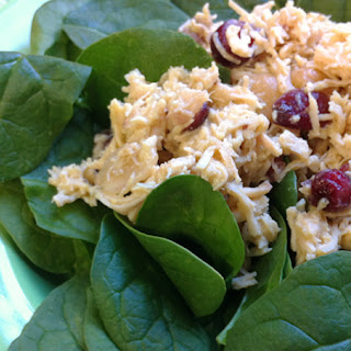 Spinach Chicken Salad With Cranberries Recipes