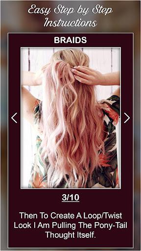 Best Hairstyles step by step DIY 1.0 screenshots 3