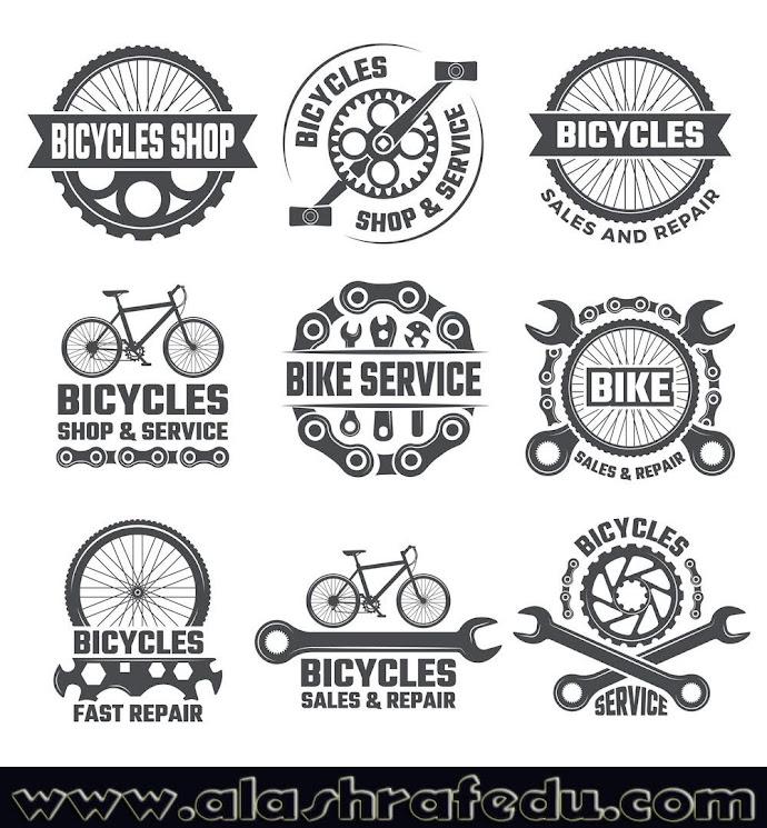 Labels Sport Logos With Parts Bicycle NVTwcZciDs2D3l69WpuX