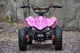 49cc sports quad bike atv kids raptor quad 2 stroke motoworks sale cheap offroad pink discount front