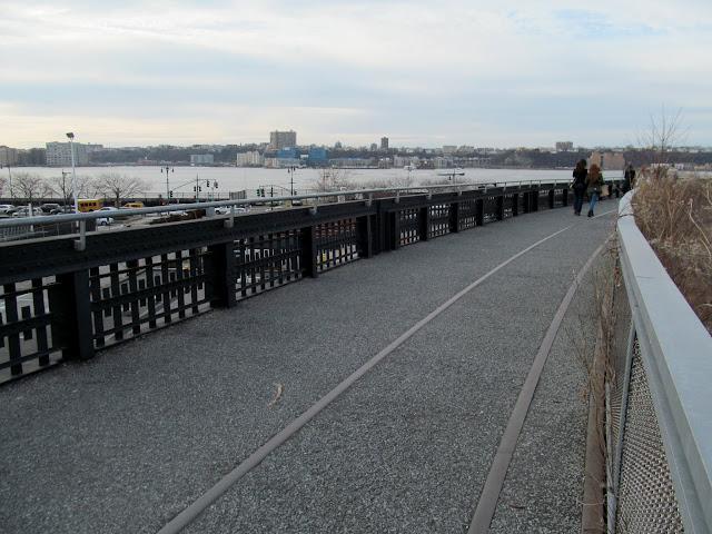 Curve near the Hudson River