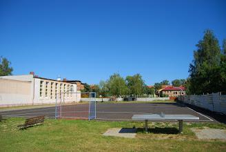Photo: Boisko szkolne.
