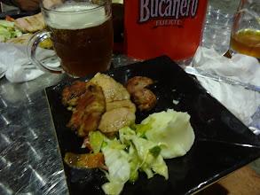 Photo: To je lepší - alko pivo a grilovanej kus pašíka.