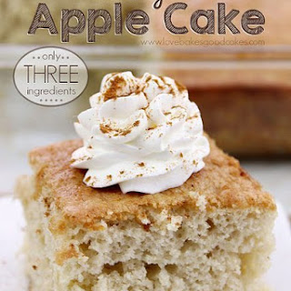 Easy Apple Cake – Only 3 Ingredients! Recipe