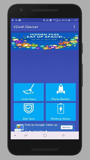 VJunk Cleaner - Junk Clean,Phone Boost,App Scan 1.2 screenshots 1