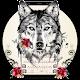 Tattoo Rose Romantic Wolf Keyboard (app)