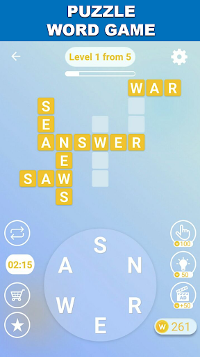 Words from words Crossword to connect Puzzle words 3.0.24 4