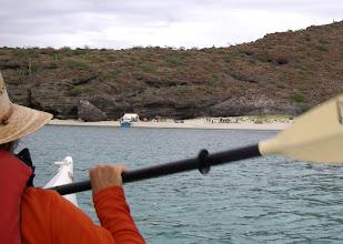 Photo: Approaching Playa Gallo