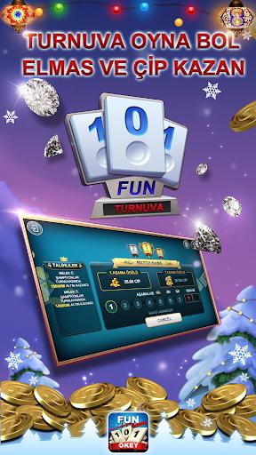 Fun 101 Okey screenshot