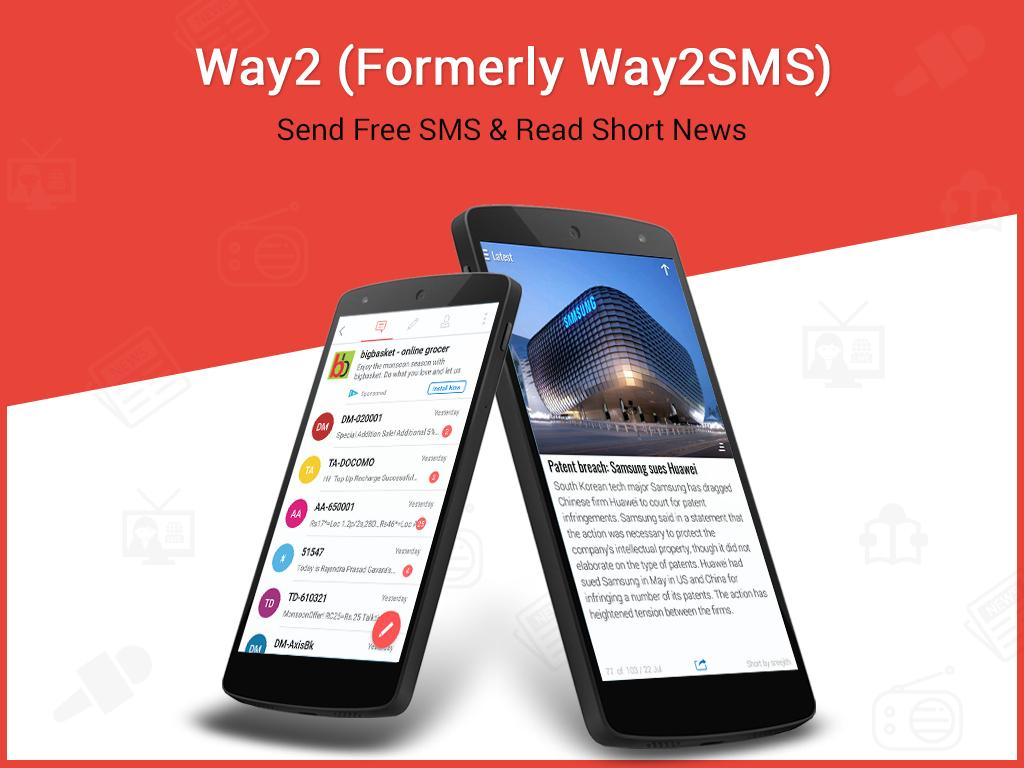 Screenshots of Way2 ( Way2SMS Free SMS ) for iPhone