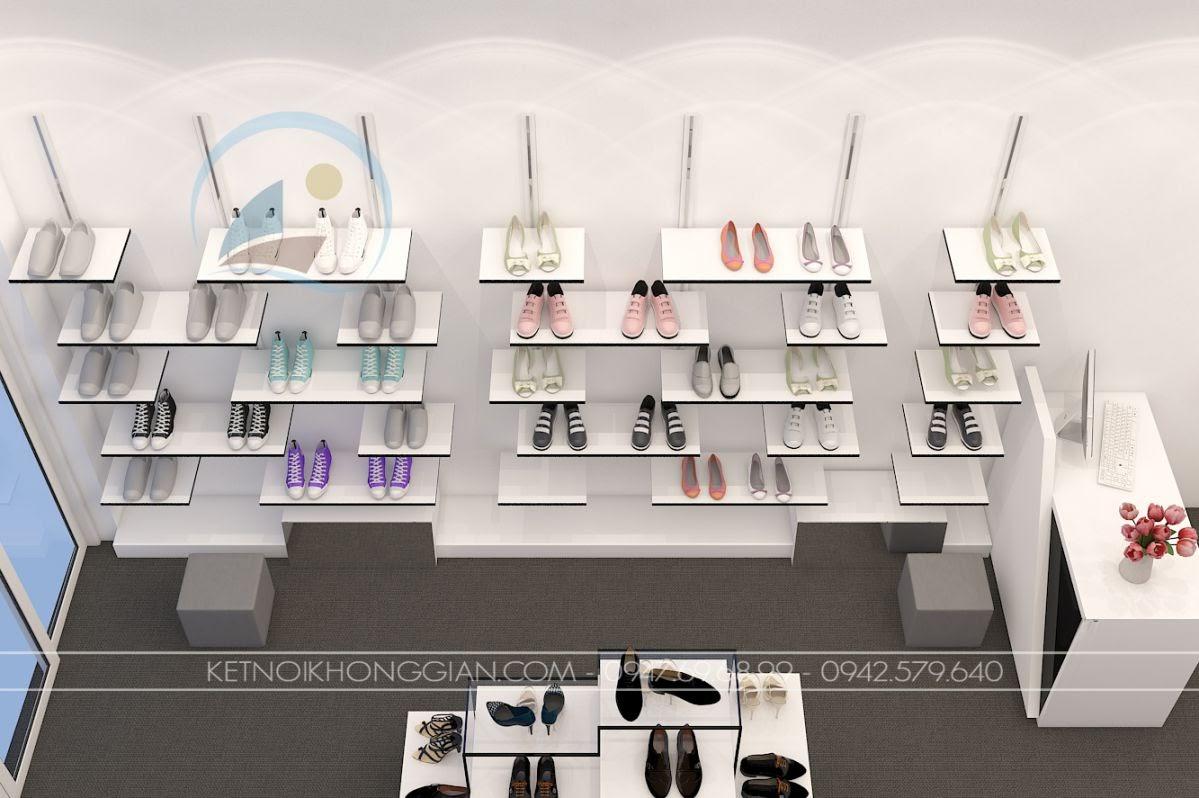 thiết kế shop giày dép Si 7