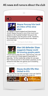 Fanzone for Manchester United- screenshot thumbnail
