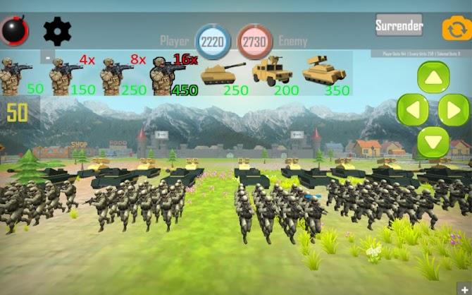 World War III: European Wars Android 18