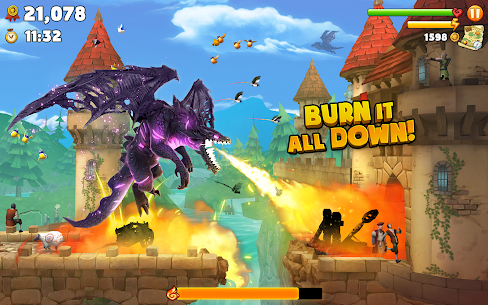 Hungry Dragon MOD APK 2.8 (MEGA HACK + Unlimited Coins) 10