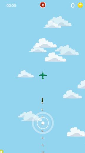 Go Fight Plane - Escape Missiles Attack! 2.0 screenshots 2