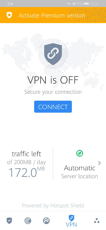 Connect to Bitdefender VPN