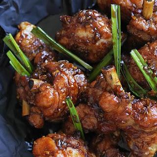 Crispy Chinese-style chicken legs