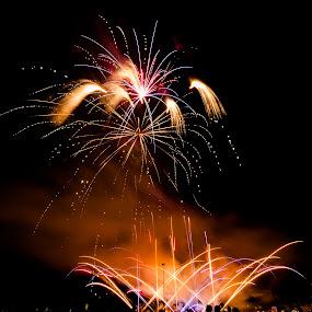 Spread by Madhujith Venkatakrishna - Abstract Fire & Fireworks (  )
