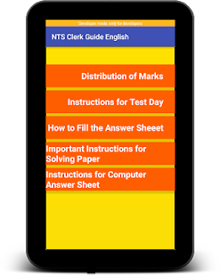 New NTS Clerk Guide English Latest:MCQs & GKLatest for PC-Windows 7,8,10 and Mac apk screenshot 17