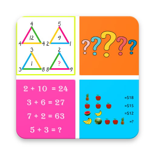 Math Challenges PRO 2018 - Puzzles for Geniuses