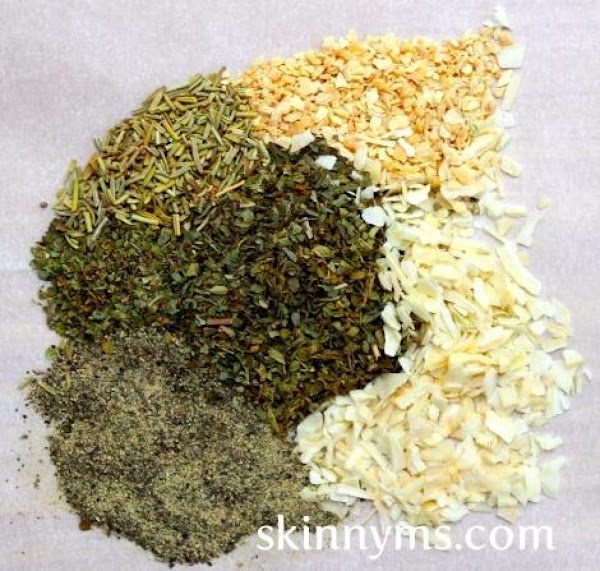 In a small bowl, combine all ingredients. Store in an airtight container in a...