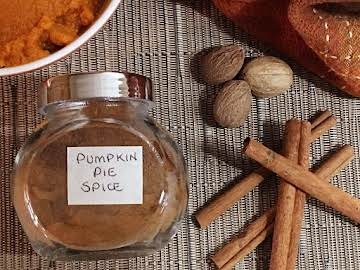Pumpkin Pie Spice • Homemade Blend