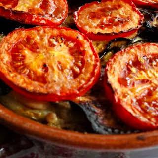 Mediterranean Potato and Eggplant Bake.