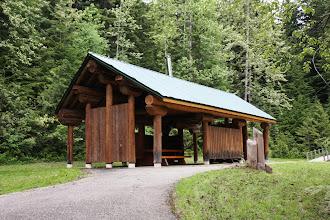 Photo: Glacier NP - Picknick-Hütte