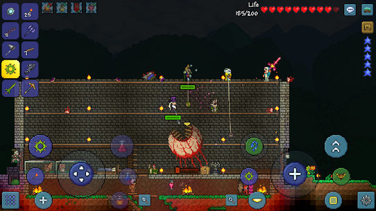 Terraria Mod Apk (Unlimited Items) 1.3.0.7.8.1 for Android 5