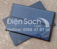 Tấm Pin năng lượng mặt trời 1.8W 5.5V