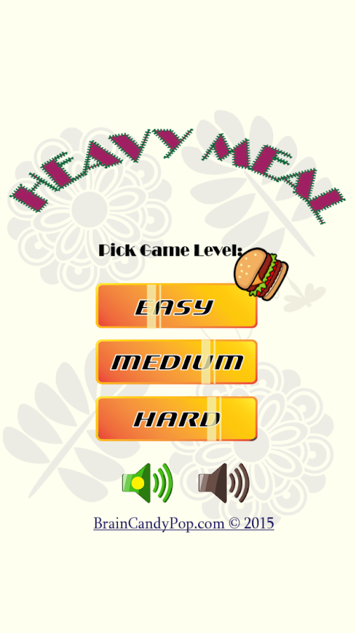Heavy Meal Logic Puzzle- screenshot