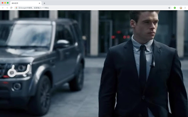 Personal bodyguards TV HD New Tab Theme