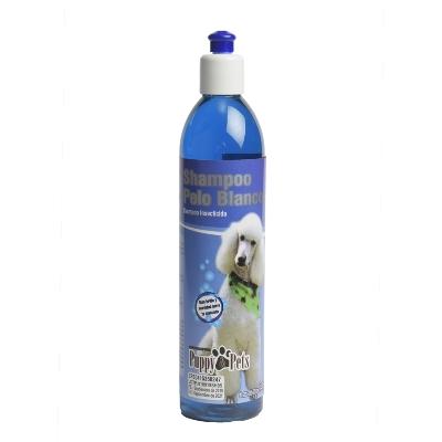 champu para mascotas puppy pelo blanco 390ml