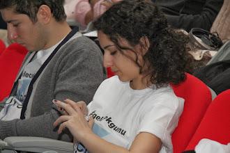 Photo: Katılımcılar#gelecekgunu hasthtag'ine mesaj atarken www.gelecekgunu.org
